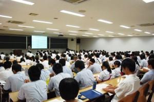学長プレゼンテーション 満席でした。