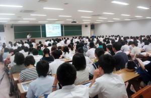 学長によるプレゼンテーション
